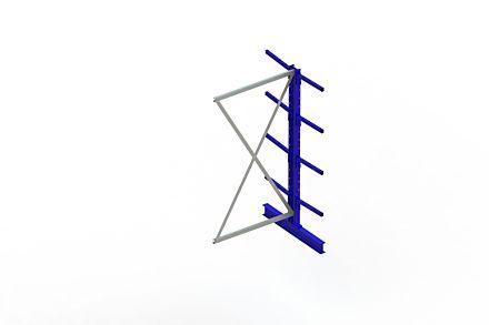 Draagarmstelling - Dubbelzijdig - 2000 mm x 1030 mm x 1020 mm - Uitvoering :Dubbelzijdig van Magazijn.nl