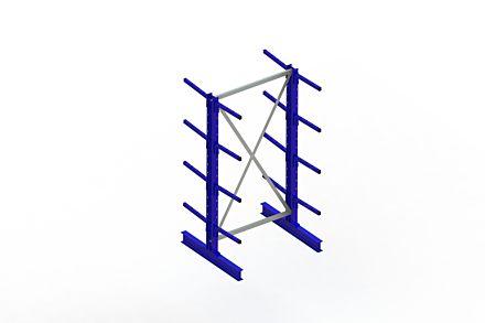 Draagarmstelling - Dubbelzijdig - 2000 mm x 1094 mm x 1020 mm - Uitvoering :Dubbelzijdig van Magazijn.nl