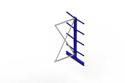 Draagarmstelling - Dubbelzijdig - 2000 mm x 1030 mm x 1220 mm - Uitvoering :Dubbelzijdig van Magazijn.nl