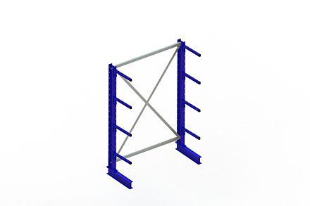 Draagarmstelling - Enkelzijdig - 2000 mm x 1394 mm x 610 mm - Uitvoering :Enkelzijdig van Magazijn.nl