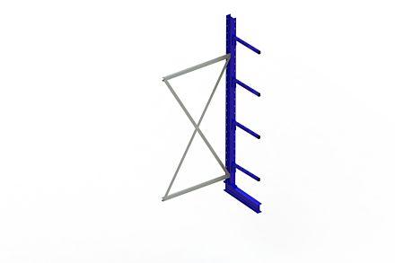 Draagarmstelling - Enkelzijdig - 2500 mm x 1030 mm x 710 mm - Uitvoering :Enkelzijdig van Magazijn.nl