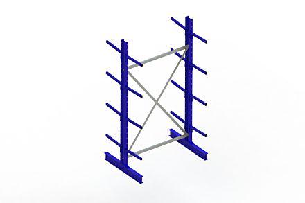 Draagarmstelling - Dubbelzijdig - 2500 mm x 1394 mm x 1020 mm - Uitvoering :Dubbelzijdig van Magazijn.nl