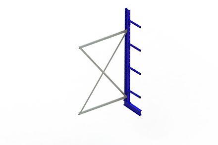 Draagarmstelling - Enkelzijdig - 2500 mm x 1330 mm x 610 mm - Uitvoering :Enkelzijdig van Magazijn.nl
