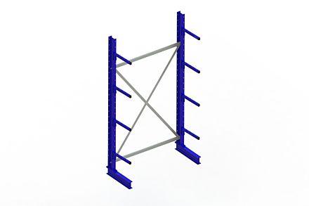 Draagarmstelling - Enkelzijdig - 2500 mm x 1394 mm x 610 mm - Uitvoering :Enkelzijdig van Magazijn.nl