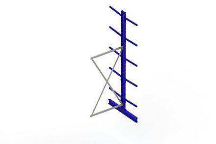 Draagarmstelling - Dubbelzijdig - 3000 mm x 1030 mm x 1220 mm - Uitvoering :Dubbelzijdig van Magazijn.nl