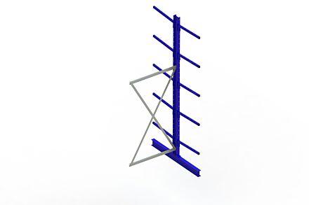 Draagarmstelling - Dubbelzijdig - 3000 mm x 1030 mm x 1420 mm - Uitvoering :Dubbelzijdig van Magazijn.nl