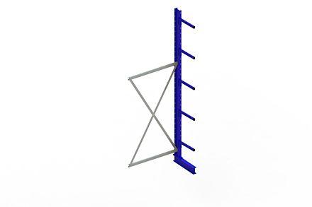 Draagarmstelling - Enkelzijdig - 3000 mm x 1030 mm x 610 mm - Uitvoering :Enkelzijdig van Magazijn.nl