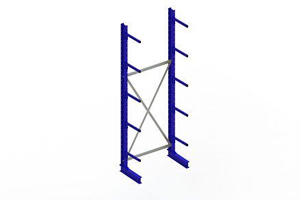 Draagarmstelling - Enkelzijdig - 3000 mm x 1094 mm x 610 mm - Uitvoering :Enkelzijdig van Magazijn.nl