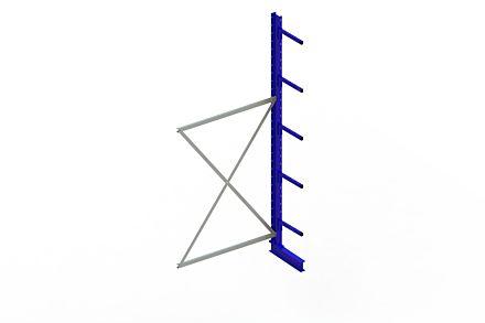 Draagarmstelling - Enkelzijdig - 3000 mm x 1330 mm x 610 mm - Uitvoering :Enkelzijdig van Magazijn.nl