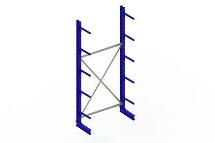 Draagarmstelling - Enkelzijdig - 3000 mm x 1394 mm x 610 mm - Uitvoering :Enkelzijdig van Magazijn.nl