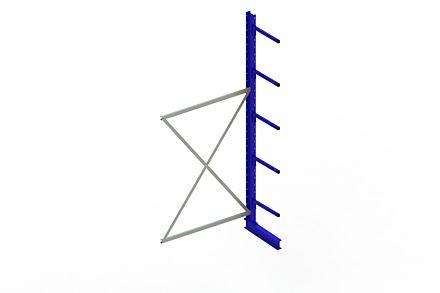 Draagarmstelling - Enkelzijdig - 3000 mm x 1330 mm x 710 mm - Uitvoering :Enkelzijdig van Magazijn.nl