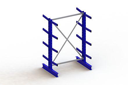 Draagarmstelling - Dubbelzijdig - 2000 mm x 1403 mm x 1040 mm - Uitvoering :Dubbelzijdig van Magazijn.nl
