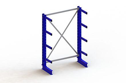 Draagarmstelling - Enkelzijdig - 2000 mm x 1403 mm x 630 mm - Uitvoering :Enkelzijdig van Magazijn.nl