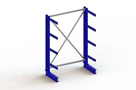 Draagarmstelling - Enkelzijdig - 2000 mm x 1403 mm x 730 mm - Uitvoering :Enkelzijdig van Magazijn.nl