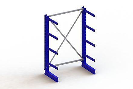 Draagarmstelling - Enkelzijdig - 2000 mm x 1403 mm x 830 mm - Uitvoering :Enkelzijdig van Magazijn.nl