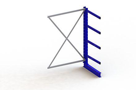 Draagarmstelling - Enkelzijdig - 2000 mm x 1330 mm x 1030 mm - Uitvoering :Enkelzijdig van Magazijn.nl