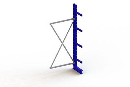 Draagarmstelling - Enkelzijdig - 2500 mm x 1030 mm x 630 mm - Uitvoering :Enkelzijdig van Magazijn.nl