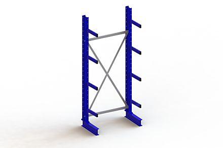 Draagarmstelling - Enkelzijdig - 2500 mm x 1103 mm x 630 mm - Uitvoering :Enkelzijdig van Magazijn.nl