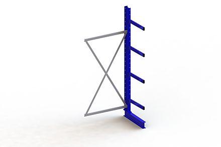 Draagarmstelling - Enkelzijdig - 2500 mm x 1030 mm x 830 mm - Uitvoering :Enkelzijdig van Magazijn.nl