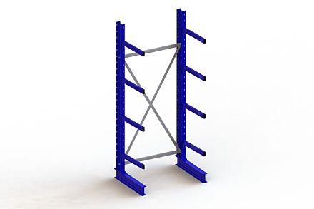 Draagarmstelling - Enkelzijdig - 2500 mm x 1103 mm x 830 mm - Uitvoering :Enkelzijdig van Magazijn.nl