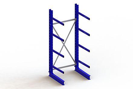 Draagarmstelling - Enkelzijdig - 2500 mm x 1103 mm x 1030 mm - Uitvoering :Enkelzijdig van Magazijn.nl