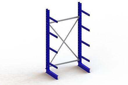 Draagarmstelling - Enkelzijdig - 2500 mm x 1403 mm x 830 mm - Uitvoering :Enkelzijdig van Magazijn.nl