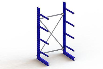 Draagarmstelling - Enkelzijdig - 2500 mm x 1403 mm x 1030 mm - Uitvoering :Enkelzijdig van Magazijn.nl