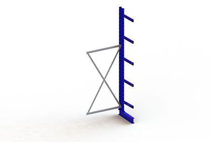 Draagarmstelling - Enkelzijdig - 3000 mm x 1030 mm x 730 mm - Uitvoering :Enkelzijdig van Magazijn.nl