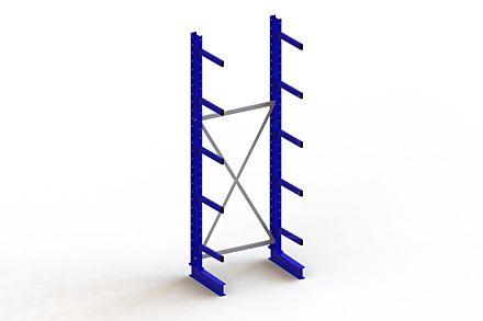 Draagarmstelling - Enkelzijdig - 3000 mm x 1103 mm x 730 mm - Uitvoering :Enkelzijdig van Magazijn.nl