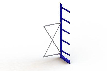 Draagarmstelling - Enkelzijdig - 3000 mm x 1030 mm x 1030 mm - Uitvoering :Enkelzijdig van Magazijn.nl