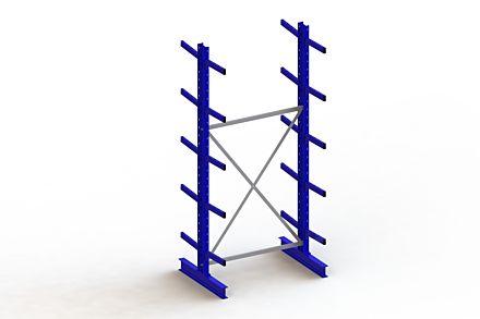 Draagarmstelling - Dubbelzijdig - 3000 mm x 1403 mm x 1040 mm - Uitvoering :Dubbelzijdig van Magazijn.nl