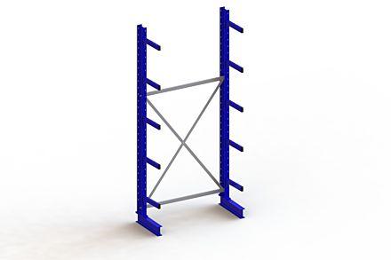 Draagarmstelling - Enkelzijdig - 3000 mm x 1403 mm x 630 mm - Uitvoering :Enkelzijdig van Magazijn.nl