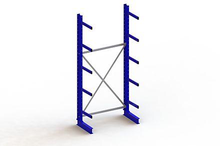 Draagarmstelling - Enkelzijdig - 3000 mm x 1403 mm x 730 mm - Uitvoering :Enkelzijdig van Magazijn.nl