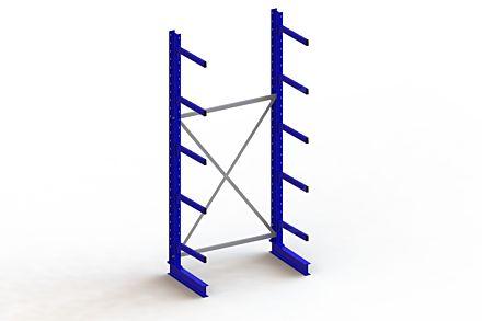 Draagarmstelling - Enkelzijdig - 3000 mm x 1403 mm x 830 mm - Uitvoering :Enkelzijdig van Magazijn.nl