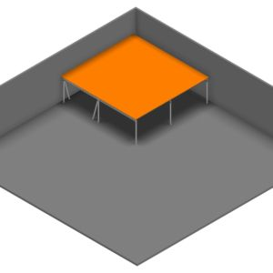 Entresolvloer 10.500 x 10.200 mm - 350 kg