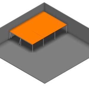 Entresolvloer 15.300 x 10.250 mm - 350 kg