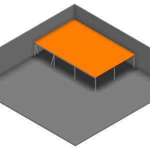 Entresolvloer 15.750 x 10.200 mm - 350 kg - 165 m2