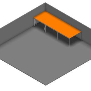 Entresolvloer 15.750 x 5.100 mm - 350 kg