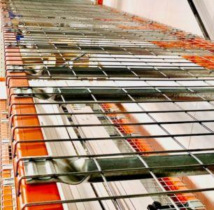 Gaasrooster 1100 x 880 mm voor palletstellingen