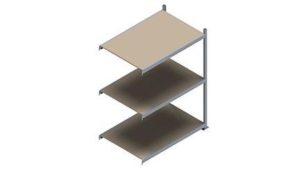 Grootvakstelling HSG 3000 - 2000 x 1543 x 1000 - Verstelbare legborden van hout of staal  | Magazijn.nl - De logistieke webshop van Nederland
