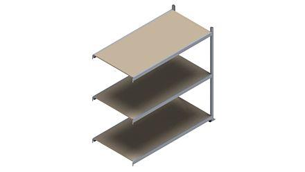 Grootvakstelling HSG 3000 - 2000 x 2043 x 1000 - Verstelbare legborden van hout of staal  | Magazijn.nl - De logistieke webshop van Nederland