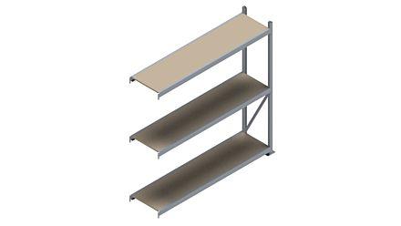 Grootvakstelling HSG 3000 - 2000 x 2043 x 500 - Verstelbare legborden van hout of staal  | Magazijn.nl - De logistieke webshop van Nederland