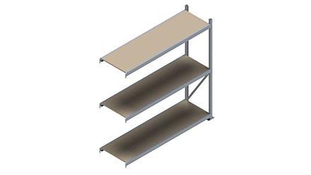 Grootvakstelling HSG 3000 - 2000 x 2043 x 600 - Verstelbare legborden van hout of staal  | Magazijn.nl - De logistieke webshop van Nederland