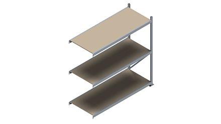Grootvakstelling HSG 3000 - 2000 x 2043 x 800 - Verstelbare legborden van hout of staal  | Magazijn.nl - De logistieke webshop van Nederland