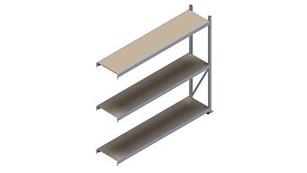 Grootvakstelling HSG 3000 - 2000 x 2293 x 500 - Verstelbare legborden van hout of staal  | Magazijn.nl - De logistieke webshop van Nederland