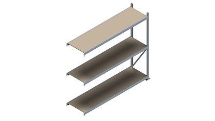 Grootvakstelling HSG 3000 - 2000 x 2293 x 600 - Verstelbare legborden van hout of staal  | Magazijn.nl - De logistieke webshop van Nederland