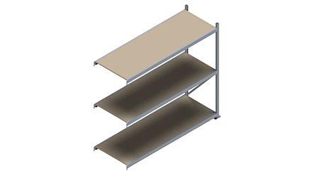 Grootvakstelling HSG 3000 - 2000 x 2293 x 800 - Verstelbare legborden van hout of staal  | Magazijn.nl - De logistieke webshop van Nederland