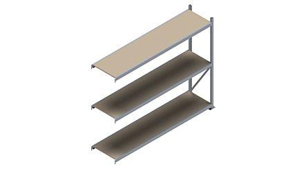 Grootvakstelling HSG 3000 - 2000 x 2543 x 600 - Verstelbare legborden van hout of staal  | Magazijn.nl - De logistieke webshop van Nederland