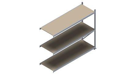 Grootvakstelling HSG 3000 - 2000 x 2543 x 800 - Verstelbare legborden van hout of staal  | Magazijn.nl - De logistieke webshop van Nederland