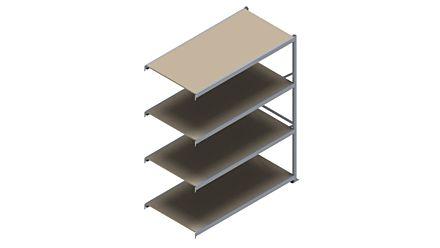 Grootvakstelling HSG 3000 - 2500 x 2043 x 1000 - Verstelbare legborden van hout of staal  | Magazijn.nl - De logistieke webshop van Nederland